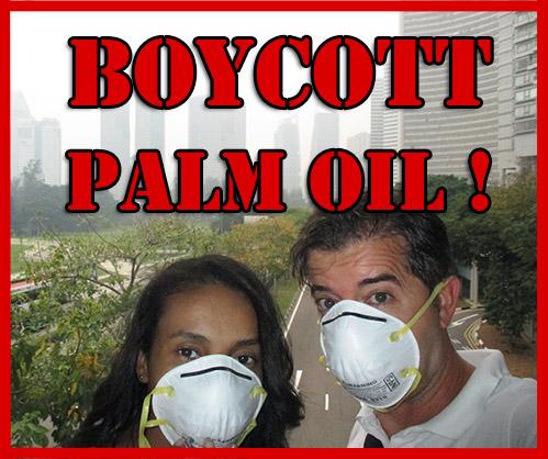 Boicottiamo l'olio di palma