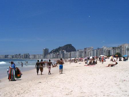 spiaggia Copacabana, Rio De Janeiro