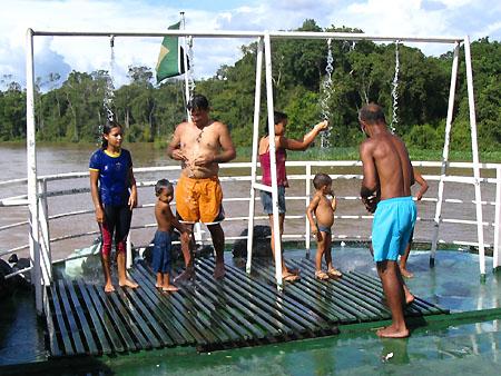 docce barca rio delle amazzoni