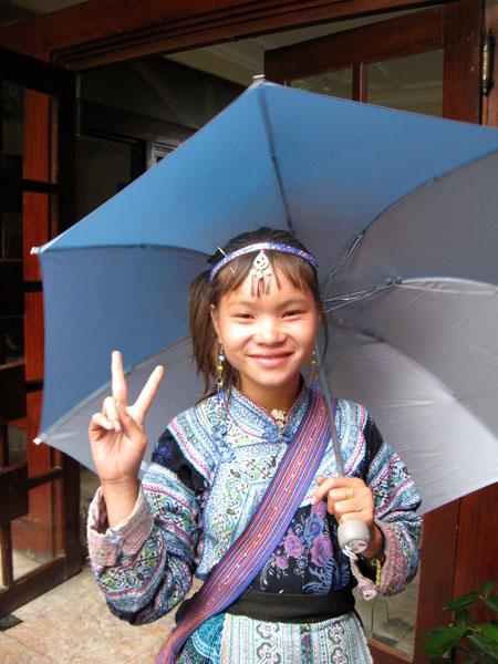 Ha, bambina Hmong