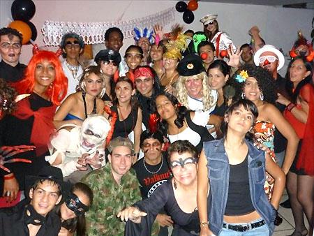 Halloween couchsurfing 2009