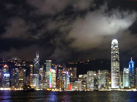 Hong Kong notte night