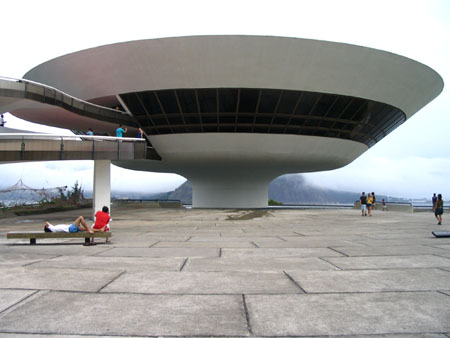Museo arte contemporanea Niemeyer