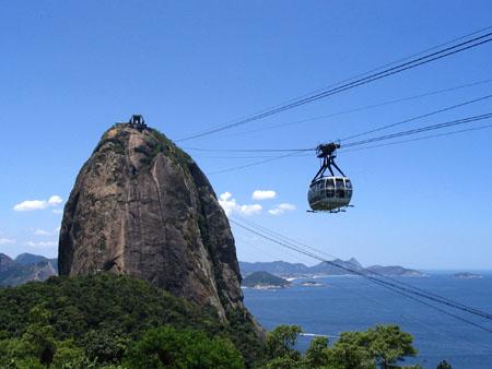 Pan di zucchero, Rio De Janeiro