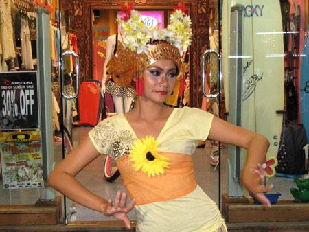 Ragazza Bali costume