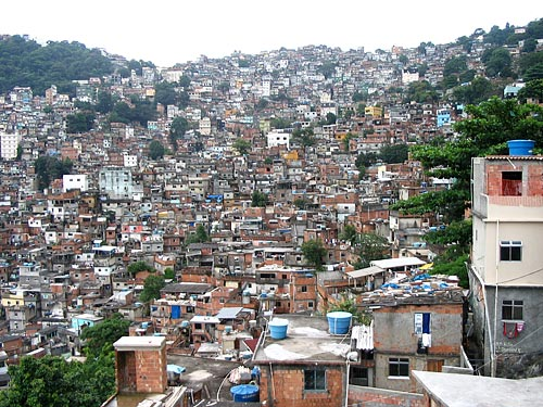 Rocinha, Favelas Brasile