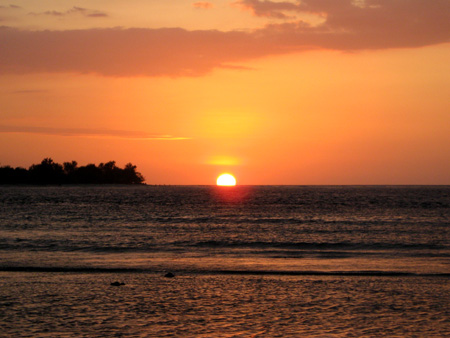 Isole Gili: Tramonto a Gili Meno