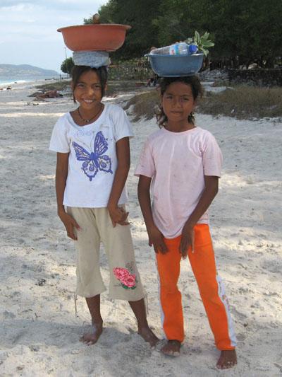 Isole Gili: Frutta a Gili Meno