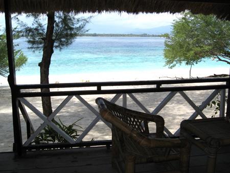 Isole Gili: Vista mare Gili Meno