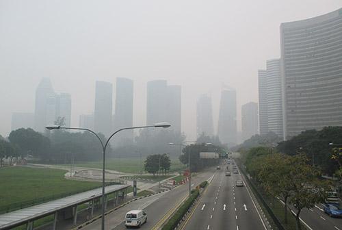 Vie centrali a Singapore, Settembre 2015 - Haze 2015