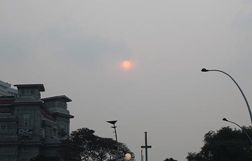 Il sole a Singapore a settembre e ottobre 2015