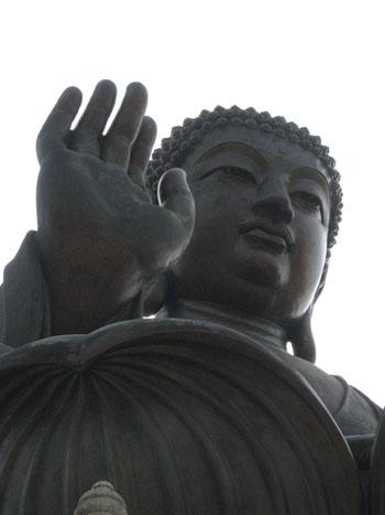 Buddha gigante Hong Kong