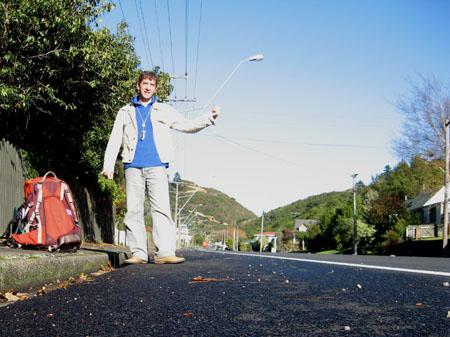 Autostop in Nuova Zelanda
