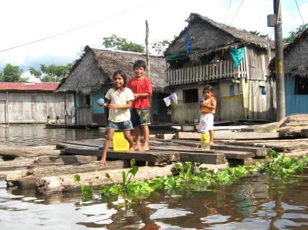 Bimbi Belen, Iquitos, Amazzonia