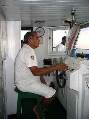 capitano barca rio delle amazzoni