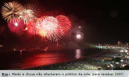 Capodanno Rio De Janeiro, Reveillon