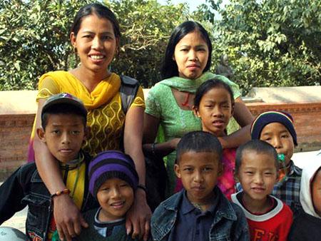Orfanotrofio Nepal