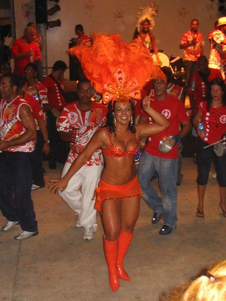 Ballerina di samba, Brasile