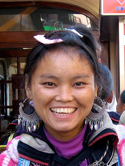 Sorriso asiatico (Sapa)