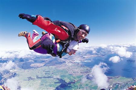 Skydiving Nuova Zelanda